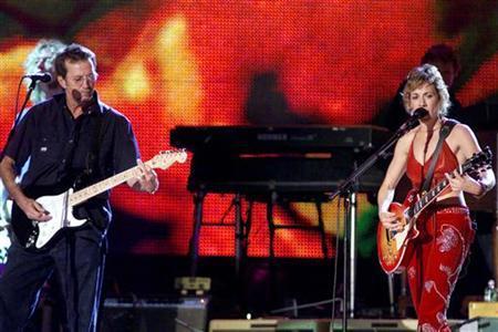 Eric Clapton & Sheryl Crow