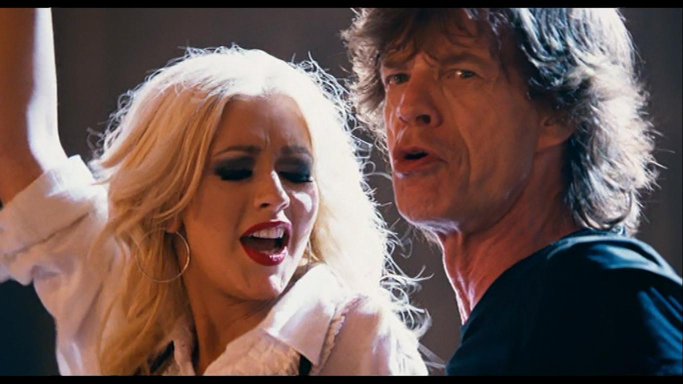 Mick Jagger & Christina Aguilera