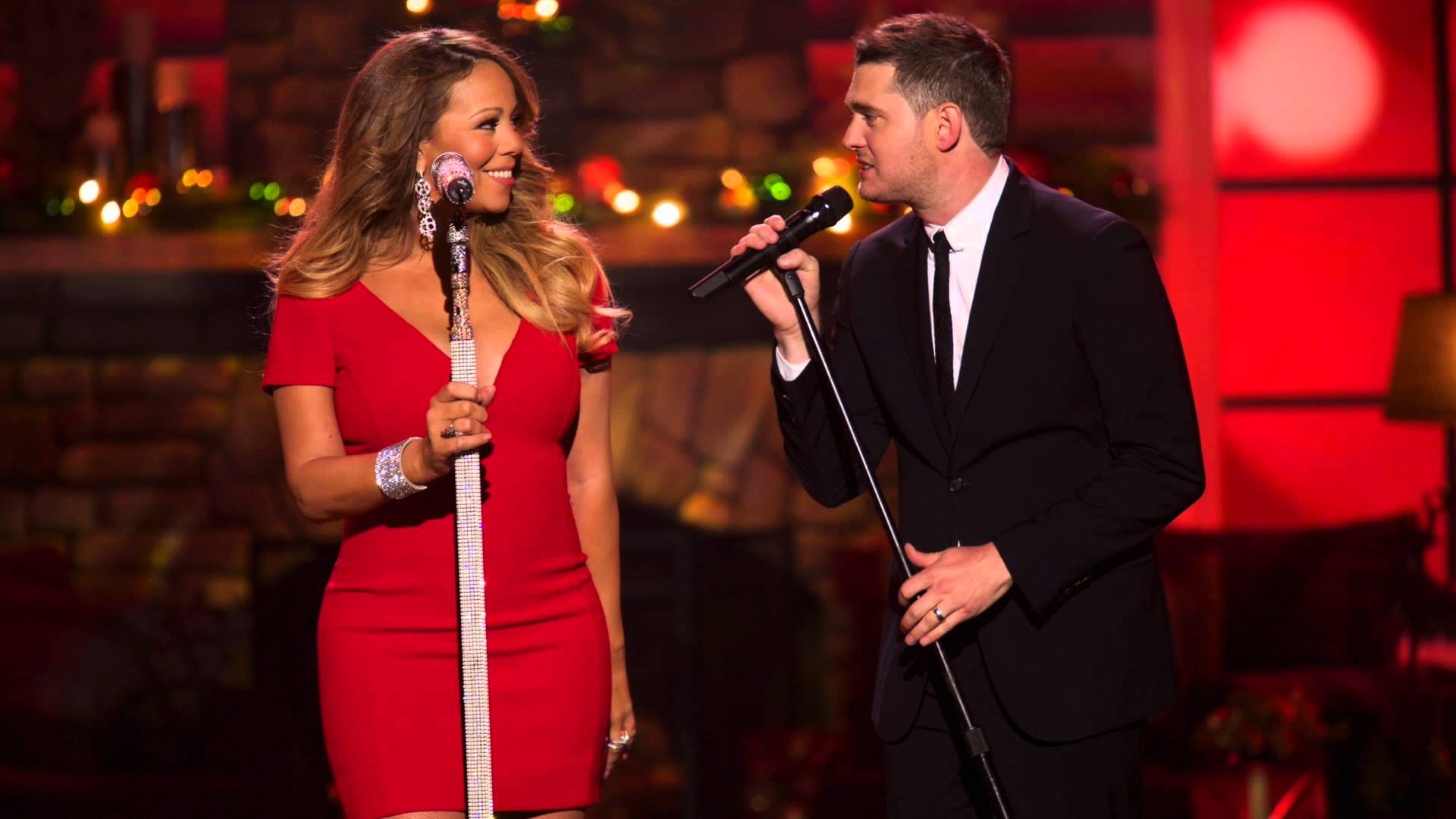 Maeiah Carey & Michael Buble