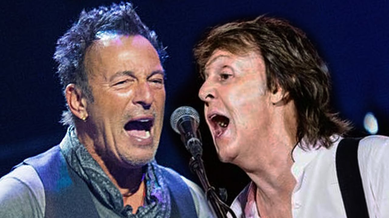 Paul McCartney & Beuce Springsteen
