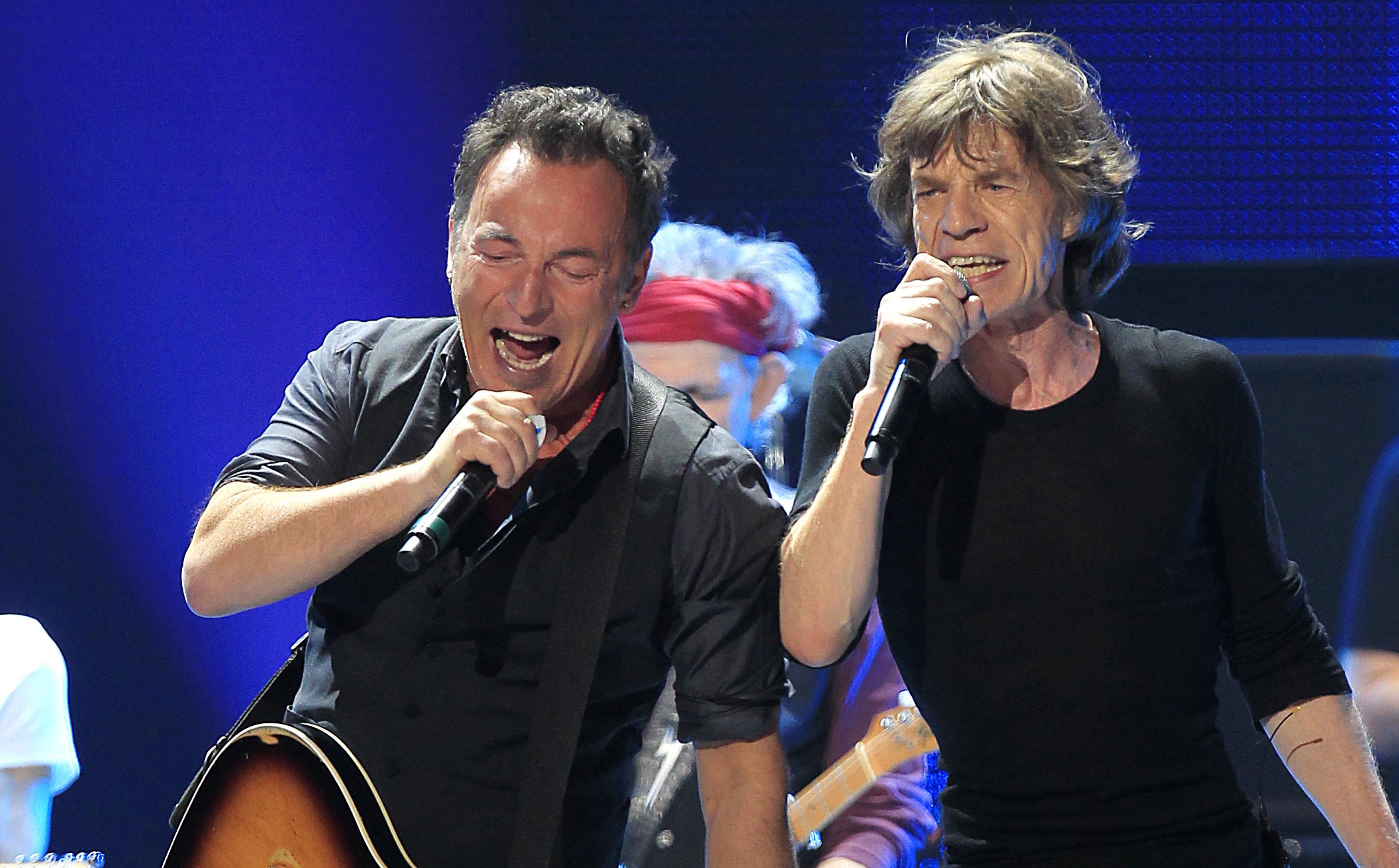Mick Jagger & Bruce Springsteen