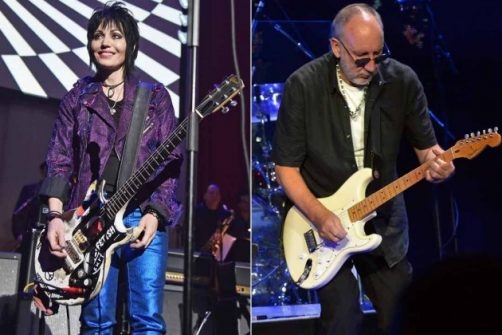 Joan Jett & Pete Townshend