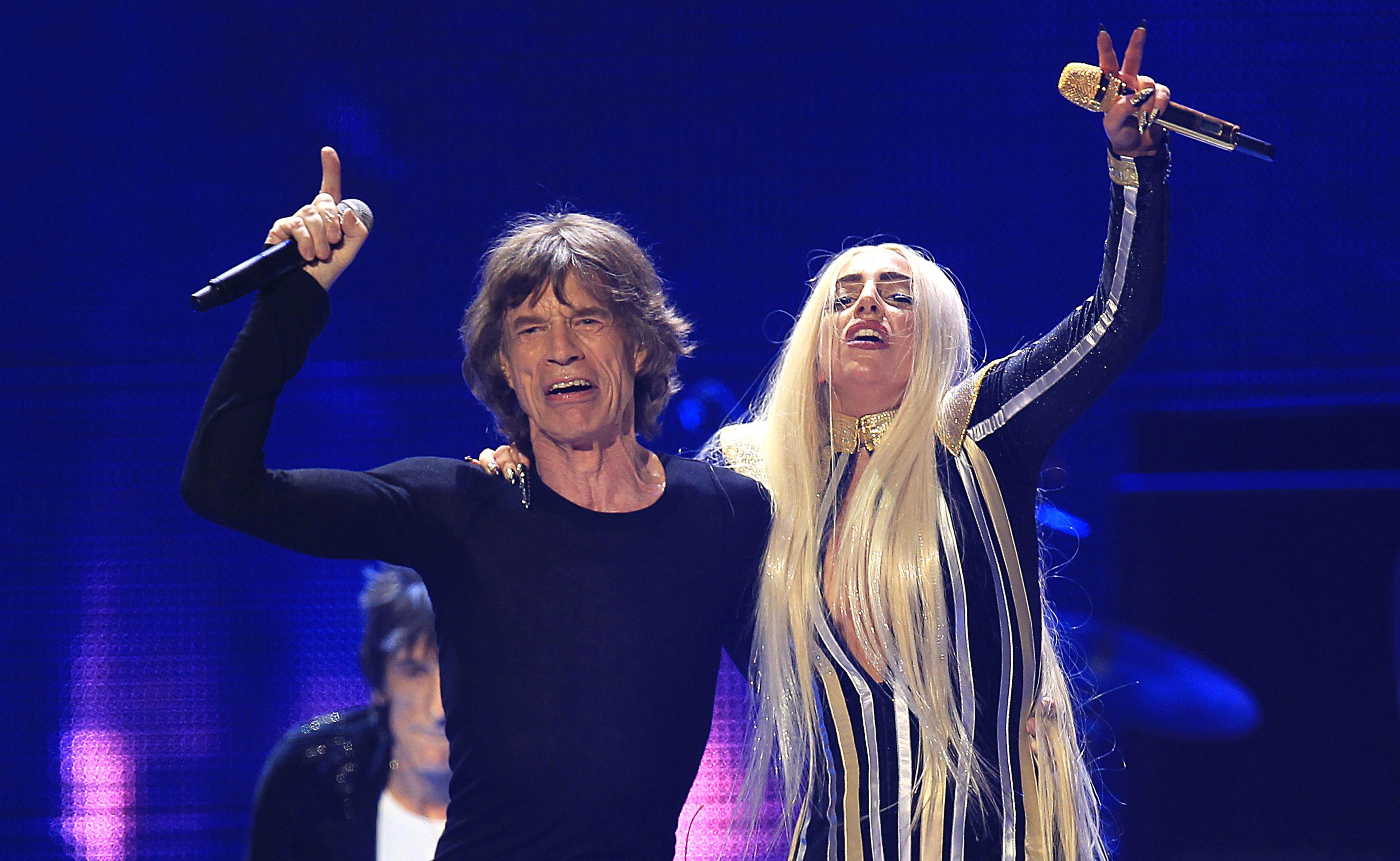 Mick Jagger & Lady Gaga