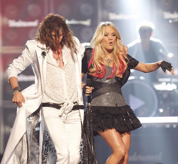 Carrie Underwood & Steven Tyler