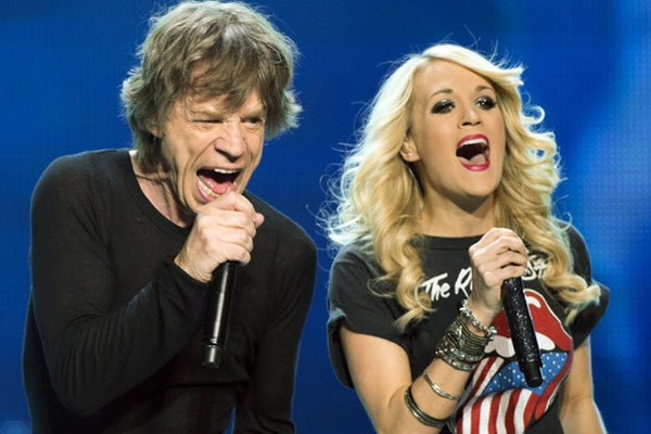 Mick Jagger & Carrie Underwood