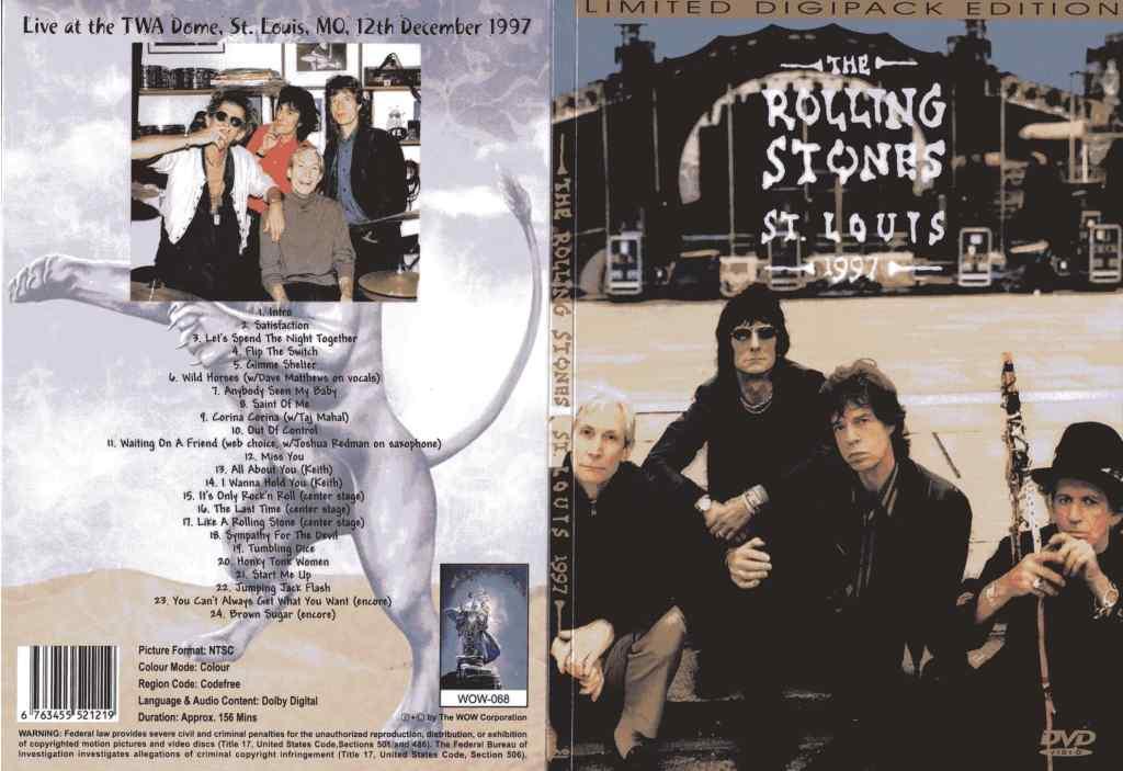 Rolling Stones - Flip the Switch - STL 1997
